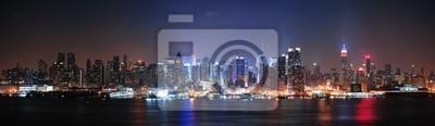 Fototapeta New York City Midtown Manhattan skyline