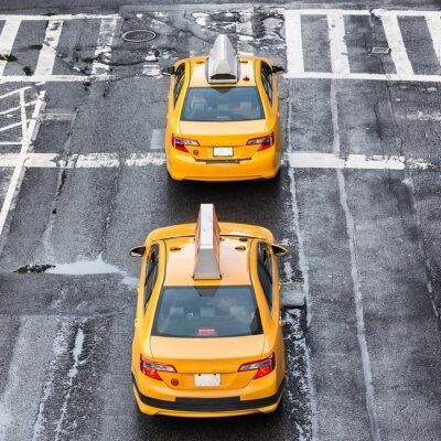 Fototapeta New York City Taxi