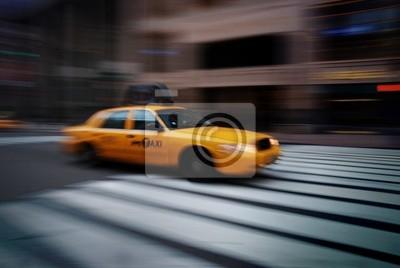 Fototapeta NEW YORK CITY YELLOW CAB