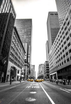 Fototapeta new york et son avenue
