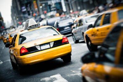 Fototapeta New York taksówki