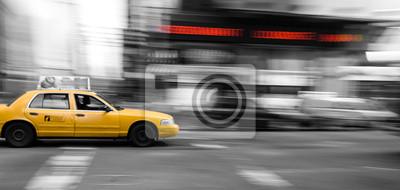Fototapeta New York Taxi Cab