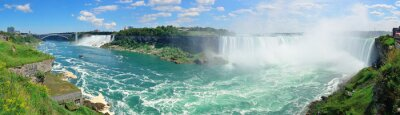 Fototapeta Niagara Falls z lotu ptaka