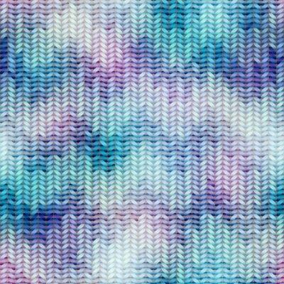 Fototapeta Niebieski dzianiny tekstury z logo marki