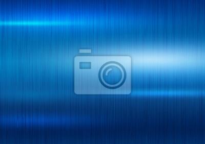 Niebieski metalu tekstury tła ilustracji wektorowych