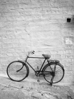 Fototapeta Niebieski rower
