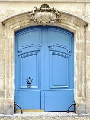 Niebieskie drzwi