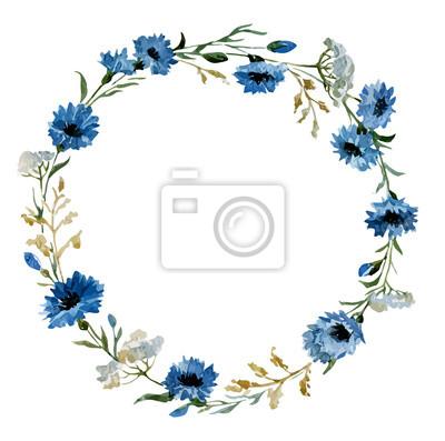 Fototapeta Niebieskie kwiaty 12
