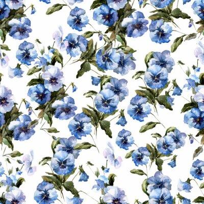Fototapeta Niebieskie kwiaty 3