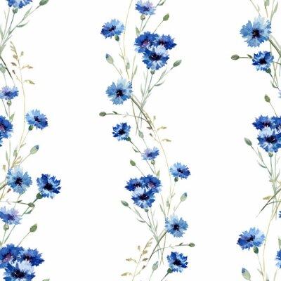 Fototapeta Niebieskie kwiaty 7