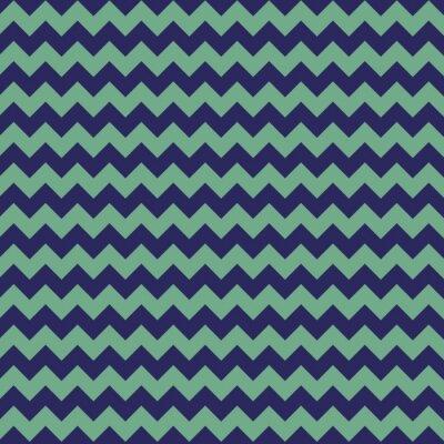 Fototapeta Niebieskie tło Chevron