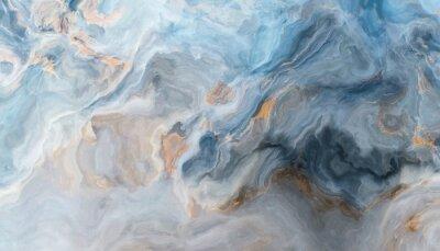Fototapeta Niebieskie tło marmuru