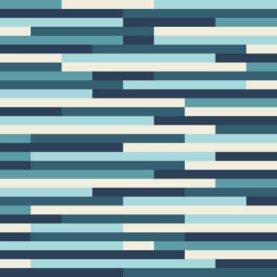 Fototapeta Niebieskie tło wektor wzór geometryczny