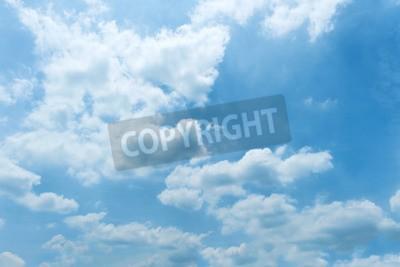 Fototapeta Niebo, Błękitne niebo