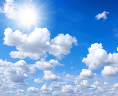 Fototapeta niebo i słońce