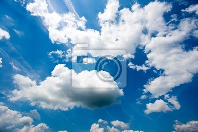 Fototapeta Niebo z chmurami