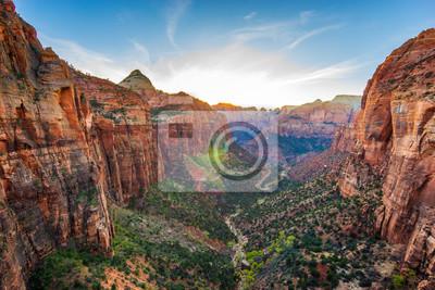 Fototapeta Niesamowity widok Zion National Park, Utah