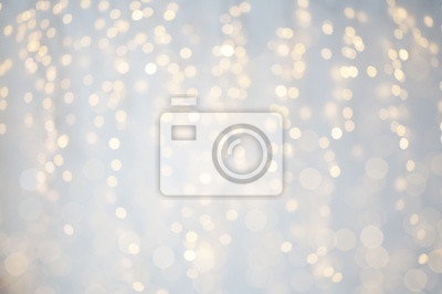 Fototapeta niewyraźne świąt Bożego Narodzenia światła bokeh