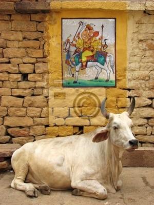 Fototapeta nieza - vache sacrée