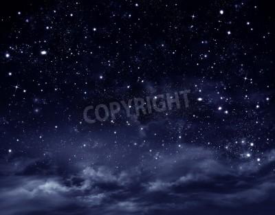 Fototapeta nocne niebo