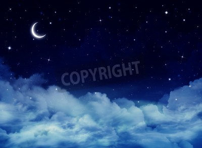 Fototapeta nocne niebo, tło