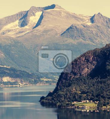 Fototapeta Norwegia krajobrazy