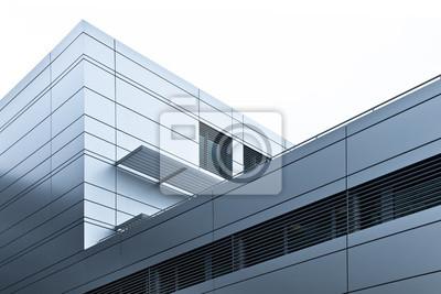 Fototapeta nowoczesne budynki przemysłowe - biurowe