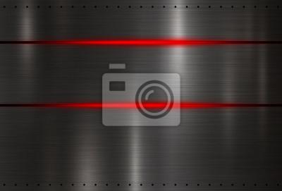 Nowoczesne czarne tekstury tła z czerwonym ilustracji wektorowych światła