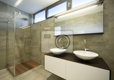 Fototapeta nowoczesny prysznic