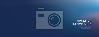 Fototapeta Nowożytny abstrakcjonistyczny gradientowy ciemny purpurowy błękitny sztandaru tło