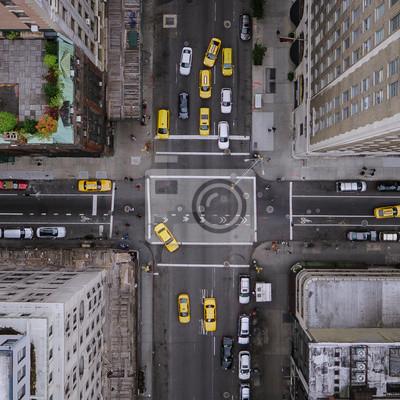 Fototapeta Nowy Jork Aerial