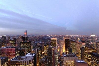 Fototapeta Nowy Jork Central Park Sonnenuntergang