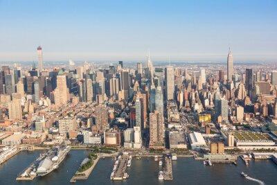 Fototapeta Nowy Jork Midtown Lotnicze