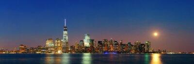 Fototapeta Nowy Jork nocy
