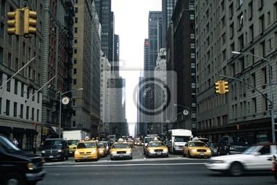 Fototapeta Nowy Jork Traffic