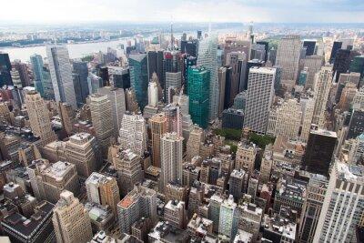 Fototapeta Nowy Jork von oben