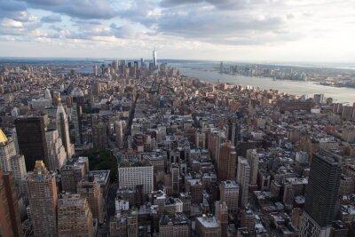 Fototapeta Nowy Jork z góry