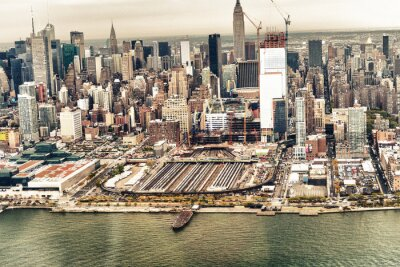 Fototapeta Nowy Jork z lotu ptaka panoramę