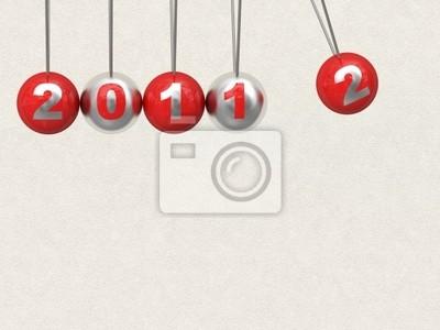 Fototapeta Nowy Rok 2012