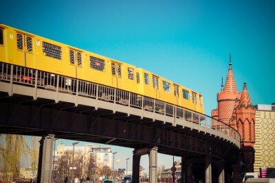 Fototapeta Oberbaumbrücke
