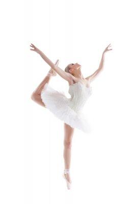 Fototapeta Obraz blond tancerka z wdziękiem