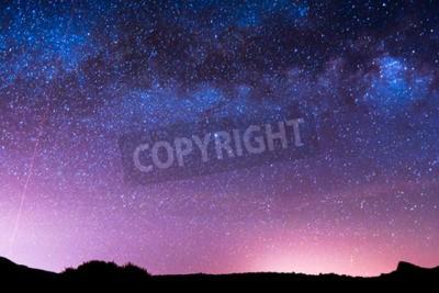 Fototapeta Obraz Nocnego nieba Darkness Planets and Stars