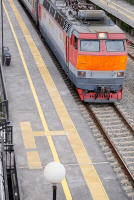 Fototapeta Obraz pociągu