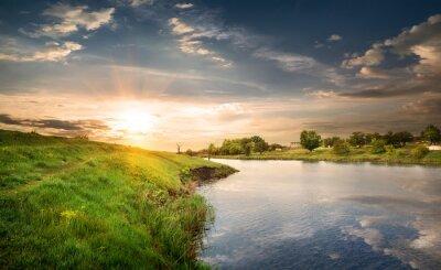 Fototapeta Odbicie w rzece
