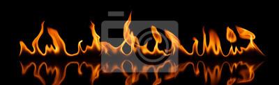 Fototapeta Ogień - płomienie - Banner