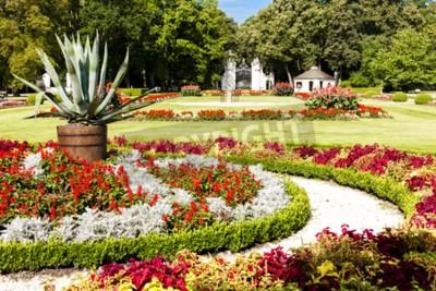 Fototapeta ogród Kozlowski Palace, Województwo lubelskie, Polska