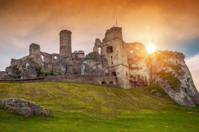 Fototapeta Ogrodzieniec Castle Poland