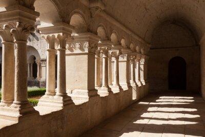 Fototapeta Old Abbey Galley