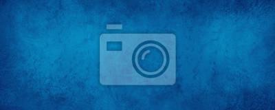 Fototapeta old blue paper background with marbled vintage texture in elegant website or textured paper design