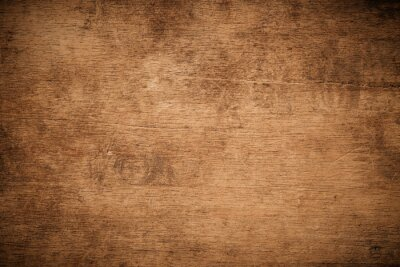 Fototapeta Old grunge dark textured wooden background , The surface of the old brown wood texture , top view teak wood paneling.